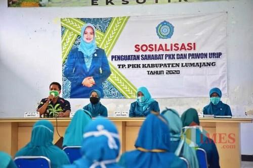 Ajak Ibu-Ibu Wujudkan Pawon Urip, Inovasi PKK Lumajang