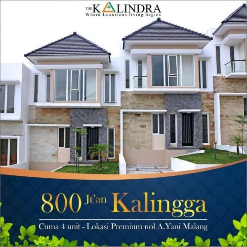 Town House The Kalindra. (Istimewa)