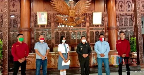Dhea, Siswi Kebanggaan Jatim Hari Ini Kembali Melenggang ke Istana Negara