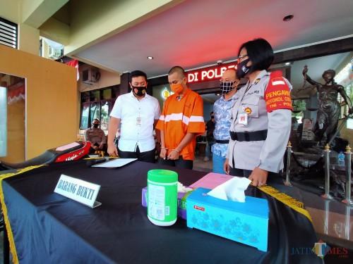Kelakuan Jahat Kambuh, Residivis Curanmor asal Lumajang Balik ke Hotel Prodeo