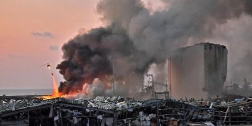Video Ledakan Besar di Lebanon, Puluhan Korban Meninggal hingga Ribuan Warga Luka-Luka