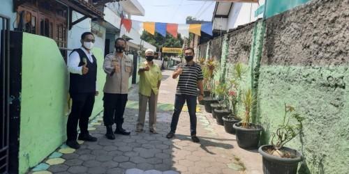 Efektif Tekan Covid 19, Polres Madiun Kota Kian Gencar Bentuk Kampung Tangguh Semeru