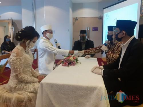 Hotel Kota Malang Gelar Simulasi Pernikahan di Tengah Pandemi, Dinkes Tekankan Hal Ini