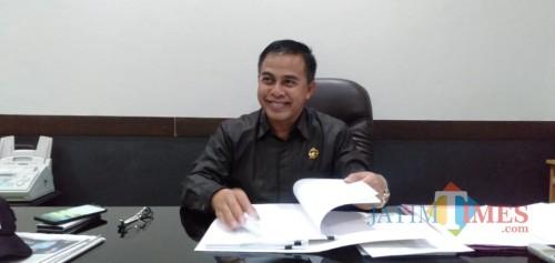 Wakil Ketua DPRD Kabupaten Malang, Miskat yang namanya santer dikabarkan menjadi bakal calon Wakil Bupati Malang (Foto : Istimewa)