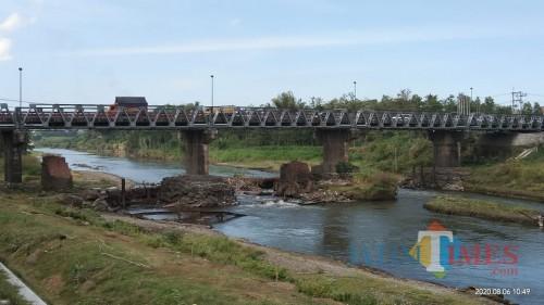Tahun 2021, Jembatan Ngujang 1 Dibongkar Total