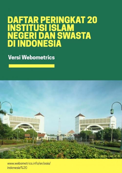 Daftar 20 Kampus Islam Terbaik di Indonesia: Yogyakarta, Malang, Bandung Masuk 5 Besar
