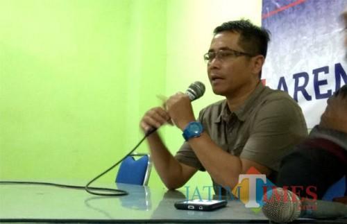 Pelatih Persik Kediri, Joko Susilo (foto dok MalangTIMES)