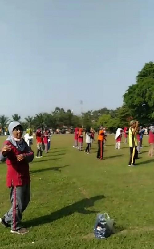 Paguyuban PKL Rangkul Warga Madiun untuk Hidup Sehat Ala Senam Teraphy Gulun