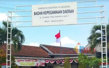 Kantor BKD Kabupaten Tulungagung / Foto : Istimewa / Tulungagung TIMES