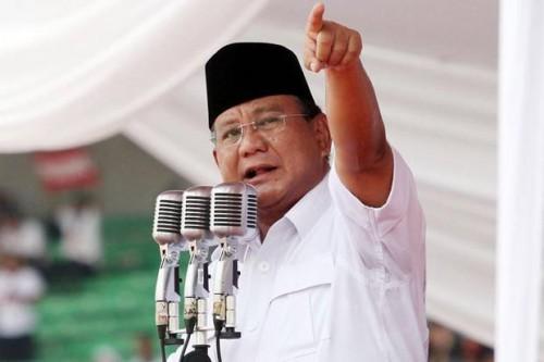 Menteri Pertahanan Prabowo Subianto (Foto:   SINDOnews)