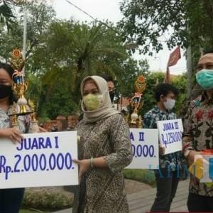 Poster New Normal Karya 6 Juara Bakal Dipajang di Seluruh Kota Mojokerto