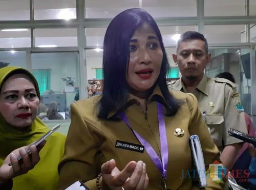 Kepala Dinas Kepemudaan, Olahraga dan Pariwisata (Disporapar) Kota Malang, Ida Ayu Made Wahyuni. (Arifina Cahyanti Firdausi/MalangTIMES).