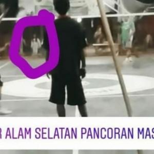 Heboh Foto Kuntilanak Terlihat Jelas di Lapangan Bulutangkis Depok, Warga: Itu Nggak Hoaks