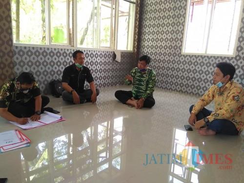Monev Kepala Dinas PMD ke BUM Desa Lana Usaha