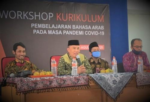 Workshop kurikulum PKPBA UIN Malang. (Foto: Humas)