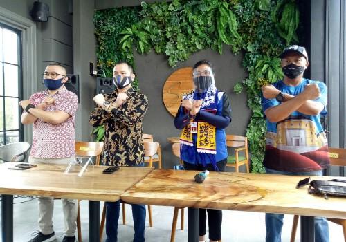 Konferensi pers Disporapar Kota Malang dan Goodkills. (Foto: Ima/MalangTIMES)