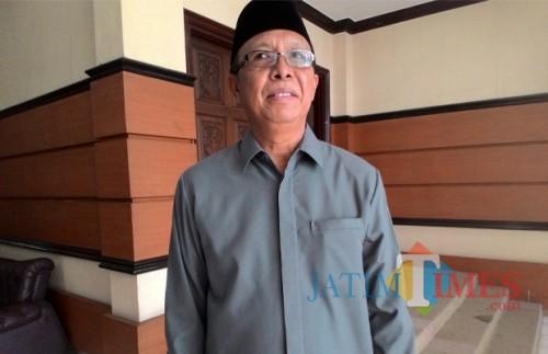 Ketua Bidang OKK DPD II Partai Golkar Kabupaten Malang, Kusmantoro Widodo saat dikonfirmasi oleh awak media beberapa waktu lalu. (Foto: Dok. JatimTimes)