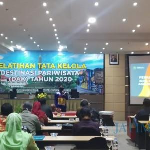 Pemulihan Ekonomi, Disporapar Kota Malang Gelar Pelatihan Tata Kelola Destinasi