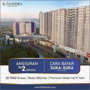 Cukup 300 Juta-an Sudah Dapat Apartemen Studio Luas di Malang