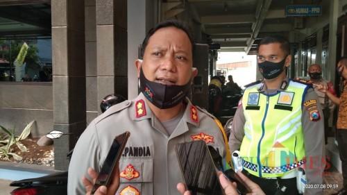 Kapolres Tulungagung,  AKBP Eva Guna Pandia (foto : Joko Pramono/jatim Times)