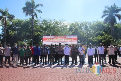 Polres Sumenep Gelar Deklarasi Pilkada Aman, Damai, dan Sejuk