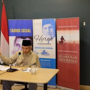 Pesan Amien Rais terhadap Jokowi: Jangan Terjebak Mentalitas 'Koncoisme'
