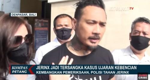 Jerinx SID (Foto:   YouTube Kompas Tv)