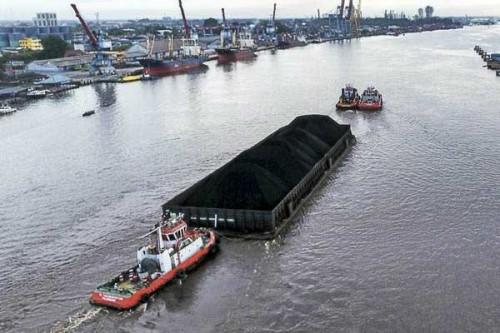 Foto: Ilustrasi kapal tongkang