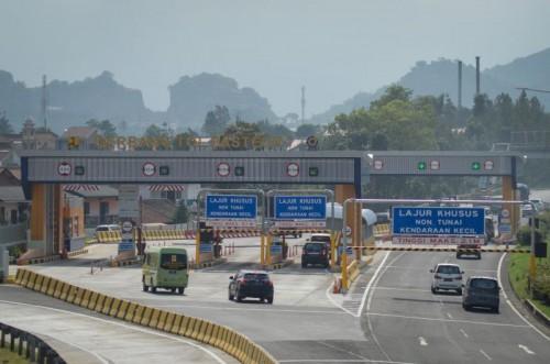 Gerbang tol Pandaan-Malang. (Foto: istimewa)