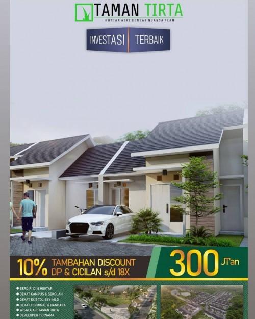 Flyer Taman Tirta. (Foto: istimewa)