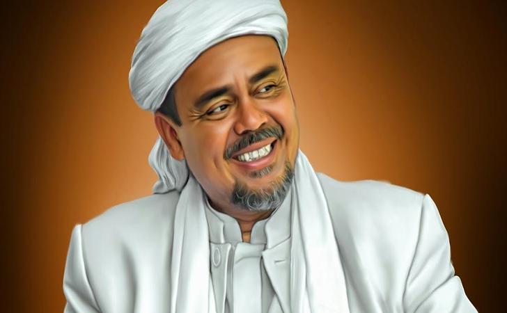 Jelang HUT ke-75 RI, Spanduk Gambar Habib Rizieq Justru Bertebaran ...