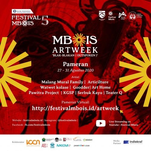 Poster Festival Mbois 5. (Foto: Istimewa).