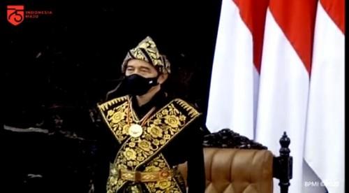 Terungkap Alasan Presiden Joko Widodo Kenakan Busana Adat NTT di Sidang Tahunan MPR