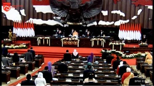 Sidang Tahunan MPR RI (Foto:  YpuTube Sekretariat Presiden)