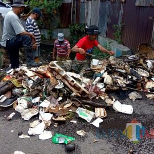 Lagi-Lagi Sampah Padati Got, DPUPRPKP: Perilaku Masyarakat Penentu Kualitas Lingkungan