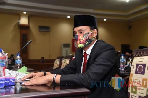 Anggota DPRD Sumenep dari Fraksi Partai Nasdem, Akis Jasuli (Syaiful Ramdahani/JatimTIMES)