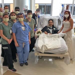 Demi Menyatukan Cinta, Pasien Covid-19 Ini Langsungkan Pernikahan di Rumah Sakit