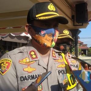 Tak Pakai Masker, Polres Sumenep Ancam Terapkan Denda Rp 100 Ribu