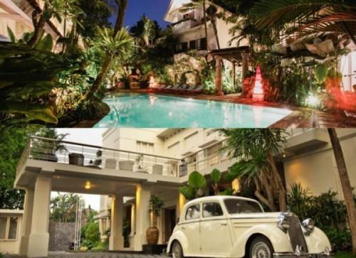 Hotel Tugu Malang(atas) dan The Shalimar Boutique(bawah) (foto: istimewa)