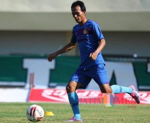 Kapten Kesebelasan Persik Kediri Ingin Bawa Timnya Finish di Papan Atas Liga 1