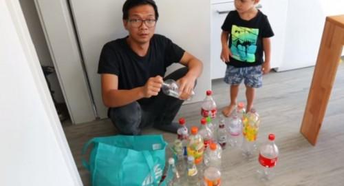 Pria asal Cirebon jadi tukang rongsok di Jerman (Foto: YouTube VIGUS GITANO)