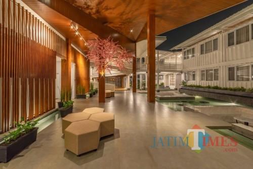 Salah satu hotel di Kota Batu. (Foto: istimewa)
