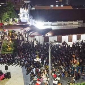 Surabaya Kembali Zona Merah, Pemkot Malah Gelar Konser Musik Seminggu