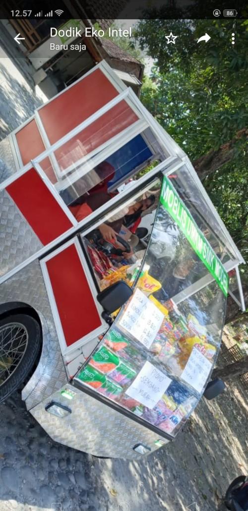 Mobil Listrik Karya Siswa SMK di Madiun Dimanfaatkan Jualan Sembako