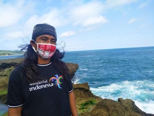Adi Sucipto, tokoh Pokdarwis Kedungtumpang Pucanglaban / Foto : Anang Basso / Tulungagung TIMES