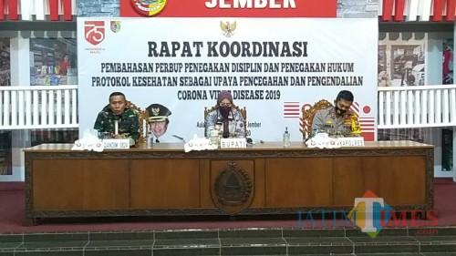 Tegakkan Disiplin Covid-19, Bupati Siapkan Perbup, Rangkul TNI-Polri