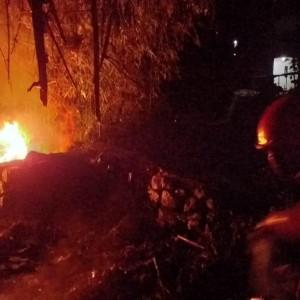 Warga Kelabakan, Tempat Pembuangan Sampah di Mergan Dibakar Orang Gila
