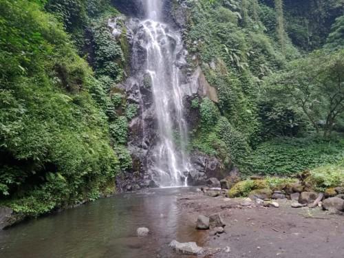 Keindahan Coban Jodho di Desa Ngadirejo, Kecamatan Jabung, Kabupaten Malang.