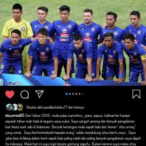 Putuskan Gantung Sepatu, Arema FC Jadi Klub Terakhir Oh In-Kyun