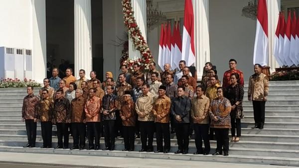 Kabinet Indonesia Maju (Foto: Okezone)